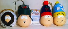 modèle: South Park  Décoration de Noël réalisée à partir d'objets recyclés Pour commander: https://www.facebook.com/LesFantaisiesdeMamzelleSofy