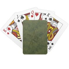 Dragon Star - Embossed Green Leather Image Poker Cards Dragon Star - Embossed Green Leather Image Poker Cards    $11.10  by  Tannaidhe  http://www.zazzle.com/dragon_star_embossed_green_leather_image_poker_cards-256084211182710909