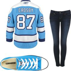 Wondering what to wear to a hockey game? Read this article #chic