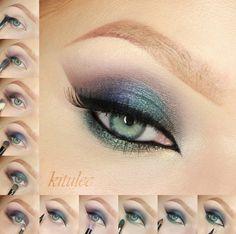 Sleek Arabian Nights Makeup Tutorial - Arabic Smokey Eyes