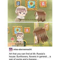 Hetalia - Mr.Russia's house xD