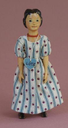 "RARE Lotz Early Basswood Hitty Doll - ""Hitty Lotzalove B4"" | eBay"
