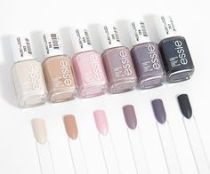 If you are a big fan of manicure, you can not miss the Essie brand. Essie Nail Polish Colors, Nail Colors, Sinful Colors, Nail Polishes, Manicures, Essie Cashmere, Uv Gel Nagellack, Matte Nail Polish, Gel Polish