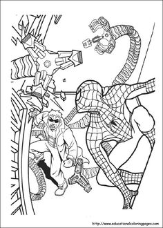 spiderman coloring sheets - Coloring Pages Spiderman
