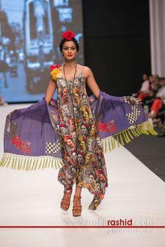 Deepak Perwani, Fashion Pakistan Week 5, Frida Kahlo Design