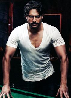 ALCIDE! ahhh i love you and yer hot werewolf self. so does sookie.