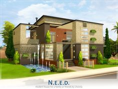 The Sims Resource: N.e.e.d. residential home by Lhonna • Sims 4 Downloads