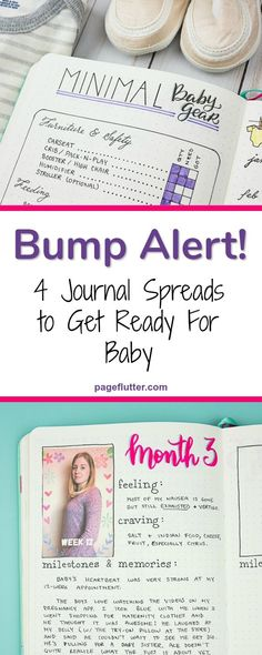 Do it yourself pregnancy and baby journal pinterest pregnancy 4 pregnancy bullet journal trackers to prepare for baby solutioingenieria Gallery