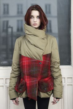 The Griffin Short Down Coat is a great little shape in a classic style. Made…
