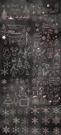 Christmas Doodles Mega Pack - Illustrations - 6