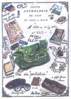 petite anthologie des sacs et sacs à main by Nathalie Lecroc