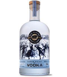 Eau Claire Distillery - Three Point Vodka