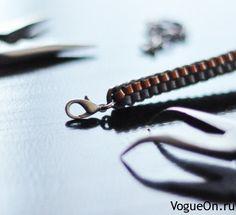Плетем кожаный браслет