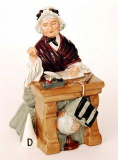 "A Royal Doulton figure Schoolmarm"" HN2223 17 cm high"