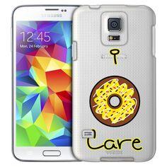 Samsung Galaxy S5 I Donut Care Yellow Case