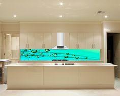 stunning splashback - but not for my reno Splashback, Flat Screen, Bathtub, Bathroom, Design, Kitchen, Standing Bath, Washroom, Cuisine
