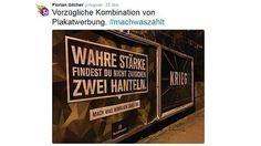 Die Bundeswehr-Kampagne bot die Woche reichlich Gesprächsstoff.