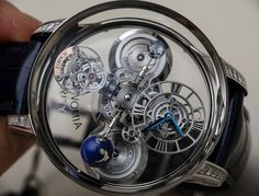 Jacob & Co. Astronomia Clarity & Black Watches Hands-On Hands-On