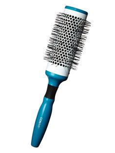 A ceramic-core round brush heats up and acts almost like a curling iron. 25 readers will win Infiniti Pro by Conair Thermal Round Brush, $6.99; infiniti.conair.com. (25 readers will win...Enter here!) Fernando Milani  - Redbook.com