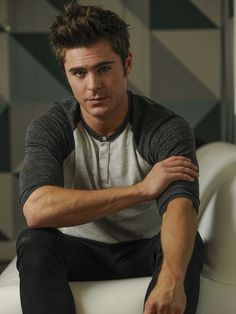 Zac posing for USA Today ~ April 28, 2014