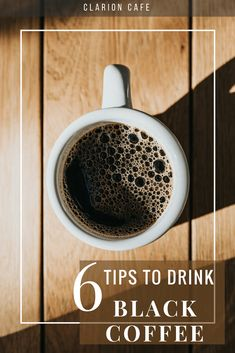 Do you ever wonder if it is possible to train yourself to drink black coffee everyday? You are probably already aware of the health benefits, but still find black coffee to be too bitter. Here's some black coffee inspiration for you! Drinking Black Coffee, Coffee Drinks, Aeropress Coffee, Coffee Break, Coffee Time, Black Coffee Benefits, Colon Cleansers, Kinds Of Salad, Frappuccino