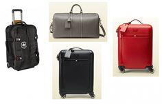Suitcase Gucci and Victorinox