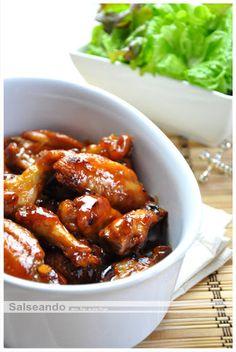 Salseando en la cocina: Hot wings, alitas picantes al estilo chino