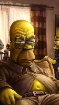 The Simpsons 2 Wallpaper Classic Cartoon Characters, Classic Cartoons, Cartoon Art, Funny Caricatures, Celebrity Caricatures, Graffiti Kunst, Realistic Cartoons, Simpsons Art, Dope Art