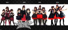 Happy 4th Anniversary to BABYMETAL