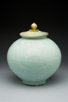 Soda Fired Porcelain with Carving Adam Field