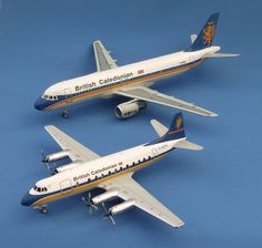 BCAL City Model, Airports, Model Trains, Britain, Aircraft, Aviation, Planes, Airplane, Airplanes