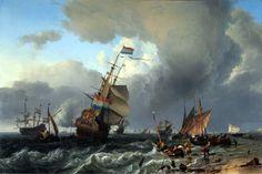 De terugkomst van de Hollandia -  ca 1650