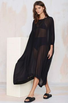 Nasty Gal Black Gold Caftan Tee | Shop What's New at Nasty Gal