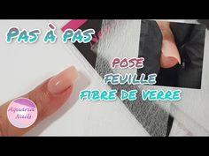 Fibernails | Comment faire des ongles avec des feuilles de fibres | Pas à pas - YouTube Aquarium Nails, Acrylic Nails At Home, Fibres, Leaves, How To Make