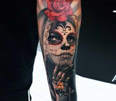 Muerte tattoo by Ata Ink