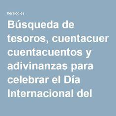 Búsqueda de tesoros, cuentacuentos y adivinanzas para celebrar el Día Internacional del Libro Infantil | Noticias de Aragón en Heraldo.es