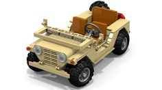 Military M151 MUTT Looking For Supporters Lego Ideas has impressed us with its Jeep Wrangler Rubicon and it might go into production. Well, in this case, what would you say of a possible military M151 MUTT? This classic military machine is made of 765 parts and it resembles the 1167-piece Volkswagen Beetle and 1,077-component Mini...