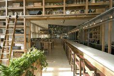 JG Domestic Americana Restaurant Serves Up a Living Wall of Herbs in Philadelphia