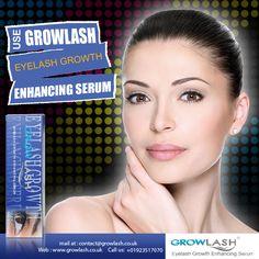 Use GROWLASH #Eyelash Growth Enhancing #Serum