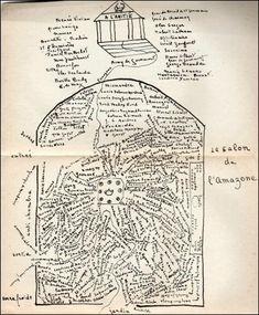 frontispice des Aventures de l'Esprit, Natalie Clifford Barney, Paris, 1929…
