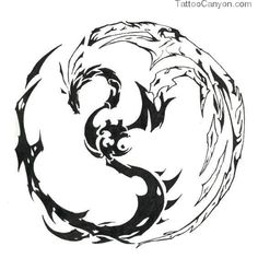 Few Dragon Tattoos Designs As Well For Women And Girls picture 10568
