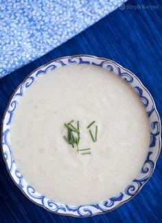 White Gazpacho Recipe | SimplyRecipes.com
