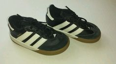 adidas samba cmf - 117.129.048 nero e bianco atletico bambino ragazzi ragazzi sz 6