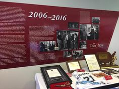 The new #CCAC Then & Now exhibit is officially up! This fifth panel shows #CCAC history from 2006-2016. #CCAC50