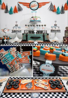 Welcome to BluGrass Designs! This listing is for our Race Car Printable Party Collection! You will receive all the PDF files you need for the perfect coordinating birthday party! THIS PARTY COLLECTION INCLUDES: Personalized items: Race Car Birthday, Race Car Party, Cars Birthday Parties, Boy Birthday, Race Cars, Birthday Themes For Boys, Happy Birthday Banners, Diy Auto, Party Flags