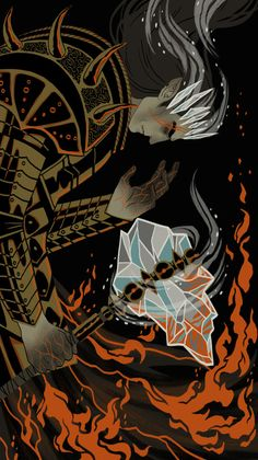 The Dark Valar, Melkor. It says he is clad in ice and fire and wields the warhammer Grond. Tolkien, Morgoth, Dark Lord, Fantasy Artwork, World Of Warcraft, Middle Earth, Lotr, The Hobbit, The Darkest
