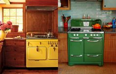 love these vintage north american ovens