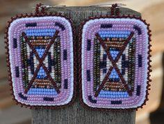 Crow Indian Bling - Beaded Earrings