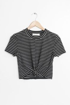 & Hand Wash & Line dry & Imported & Measured from small & Length & Chest - Free domestic shipping on U. Simple Outfits, Outfits For Teens, Chic Outfits, Summer Outfits, Fashion Outfits, Crop Top Shirts, Cute Shirts, Dress To Impress, Trending Outfits