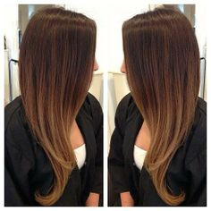 Love this! Definitely doing this soon soft caramel ombré